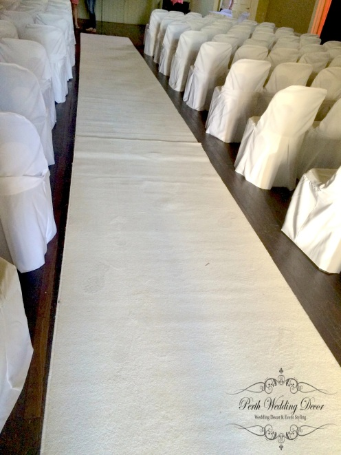 14m Ivory carpet. $65.00