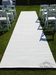 6m White carpet. $35.00
