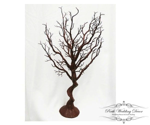 75cm brown manzanita tree. $20.00 each
