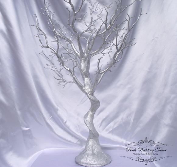 75cm silver manzanita tree. $20.00 each