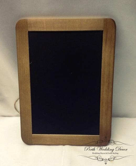 A4 blackboard. $2.50
