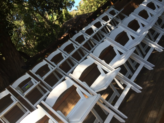 Americana Chairs. $4.50 each