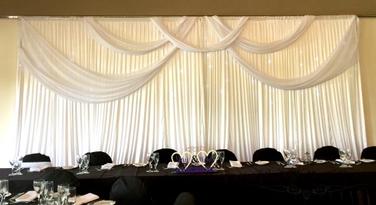 Backdrop pith material feature. 1-3m $160, 3-6m $230, 6-12m $250