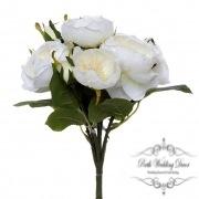 Cathy Rose Cabbage Bouquet Cream (30cmH)