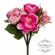 Cathy Rose Cabbage Bouquet Hot Pink (30cmH)