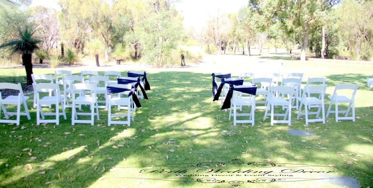 Chair sash. $1.00 each