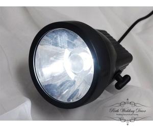 Clear LED spotlight. $15.00 each