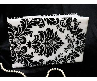 Damask black & white. $15.00 each
