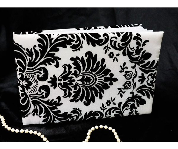 Damask black & white. $15.00 each