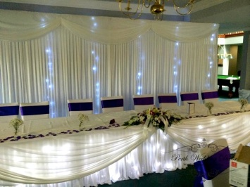 Fairy light feature.3m-6m $ 8.00, 6m-12m $12.00 for lights only