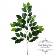 Ficus Leaf Spray 49 Leaves Green (65cmH)