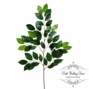 Ficus Leaf Spray 49 Leaves Green (65cmH)