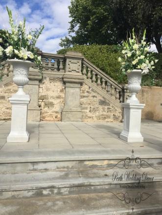 flower plinths