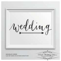 Framed wedding sign. $1.00 each