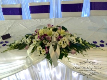 fresh flower arrangment. POA