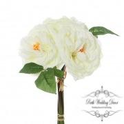 Garden Rose Bouquet Cream (29cmST)