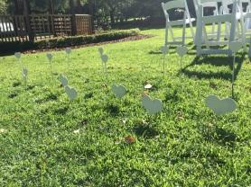 grass hearts