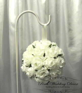 Kissing ball with greenery kissing ball. $2.00 each