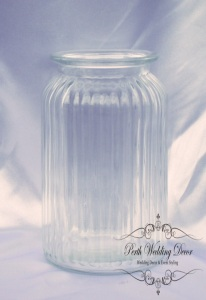 lined vase