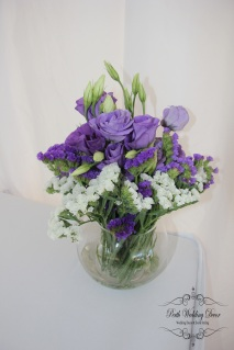 Mary & Nathan. $12.00 inclused silk flowers