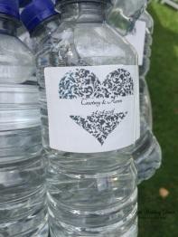 Personalised water bottles. $1.00-$3.50