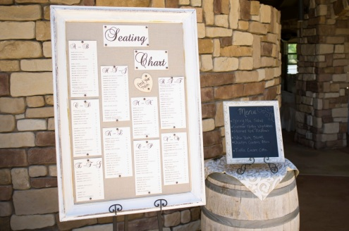 Pin Board seating chart. $28.00