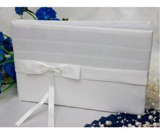Satin bow white. $15.00 each