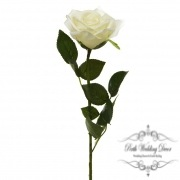 Short Stem Sonia Rose Ivory (30cmH)