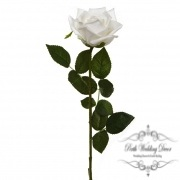 Siena Rose Open Real Touch Bridal White (75cmH)