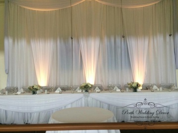Skirting with draping. $18.00 each-1