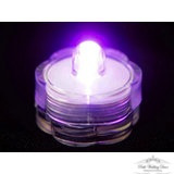 Submergable LED light, Purple. $0.50 each