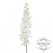 Tropical Orchid Dendrobium White (95cmH)