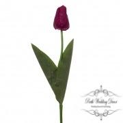 Tulip Monet Real Touch Dark Purple (55cmST)