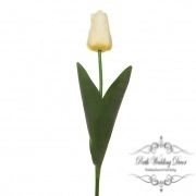 Tulip Monet Real Touch light Yellow (55cmST.)