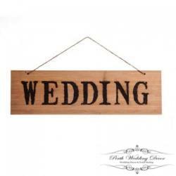 Wedding wooden sign. $1.00 each