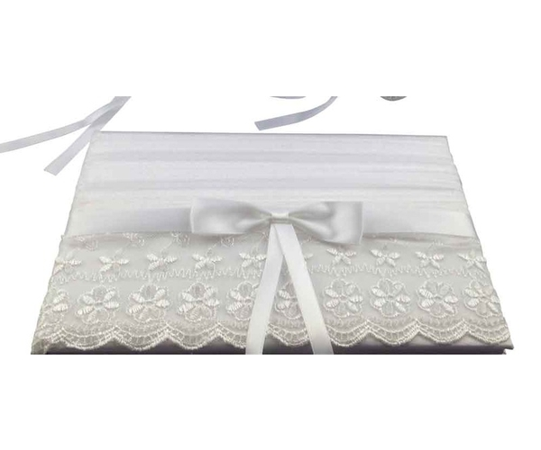 White:ivory lace. $15.00 each