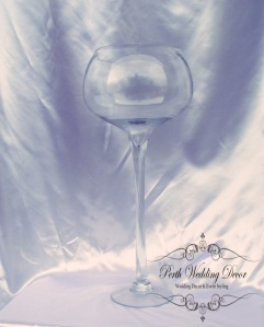 wine glass vase