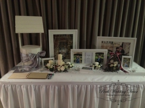 wishing well memorial table