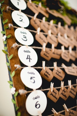 Wooden frame with pegs seating chart (2). $25.00