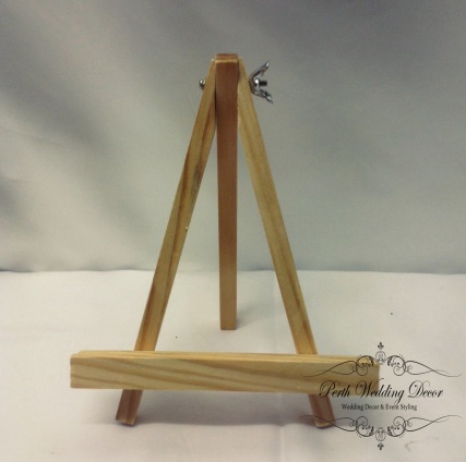Wooden small easle. $0.50 each