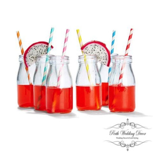 Glass water jars. $0.50 each