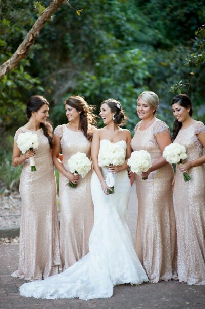 Awesome Gold And Champagne Wedding Contemporary - Styles & Ideas ...