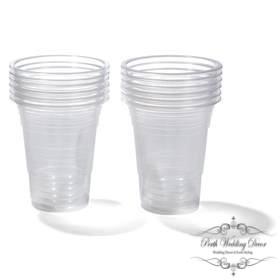 Plastic tumblers. $0.10 each
