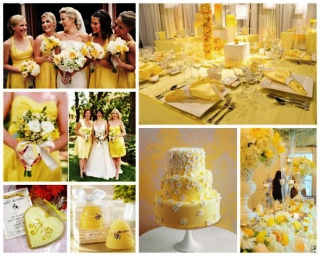 summer wedding colors themes