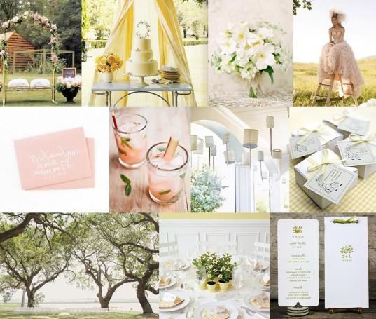 spring wedding theme ideas