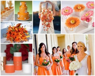 spring wedding themes 2014